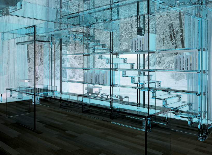 Transparent Glass House Concept Most Beautiful Houses In The World