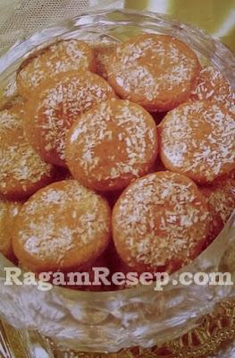 Kue Kering Kayu Manis Kelapa Parut