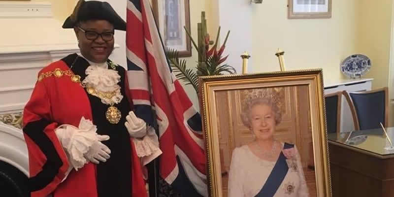 BREAKING: Another Nigerian Woman, Victoria Obaze Becomes Mayor In UK(See Photos)