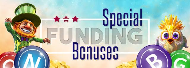 Cyber Bingo | Check Special Funding bonuses