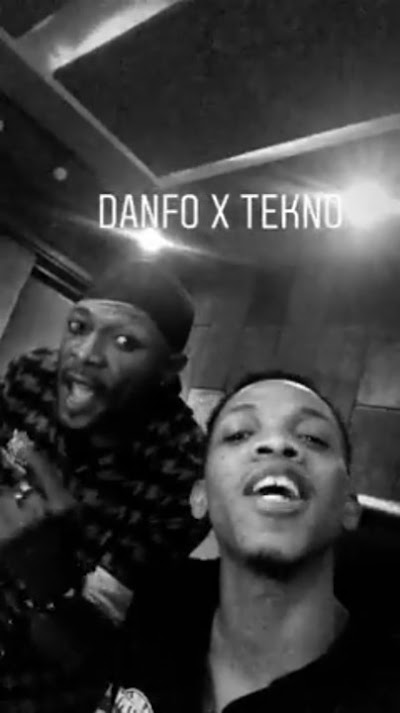 Tekno & Danfo Drivers To Release New Song [See Studio Photos]