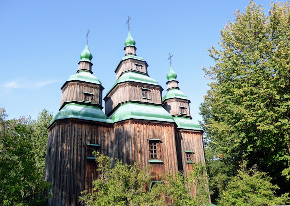 Пирогов. Музей народной архитектуры и быта. Церковь св. Параскевы. 1742 г.