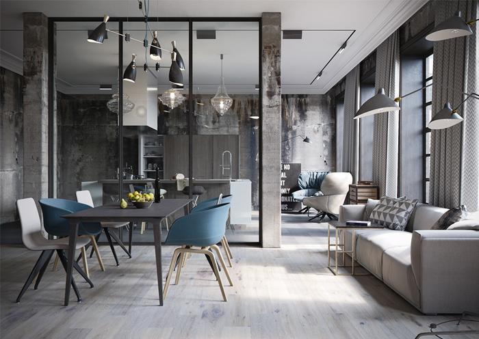 phong cách thiết kế nội thất 2018 được yêu thích