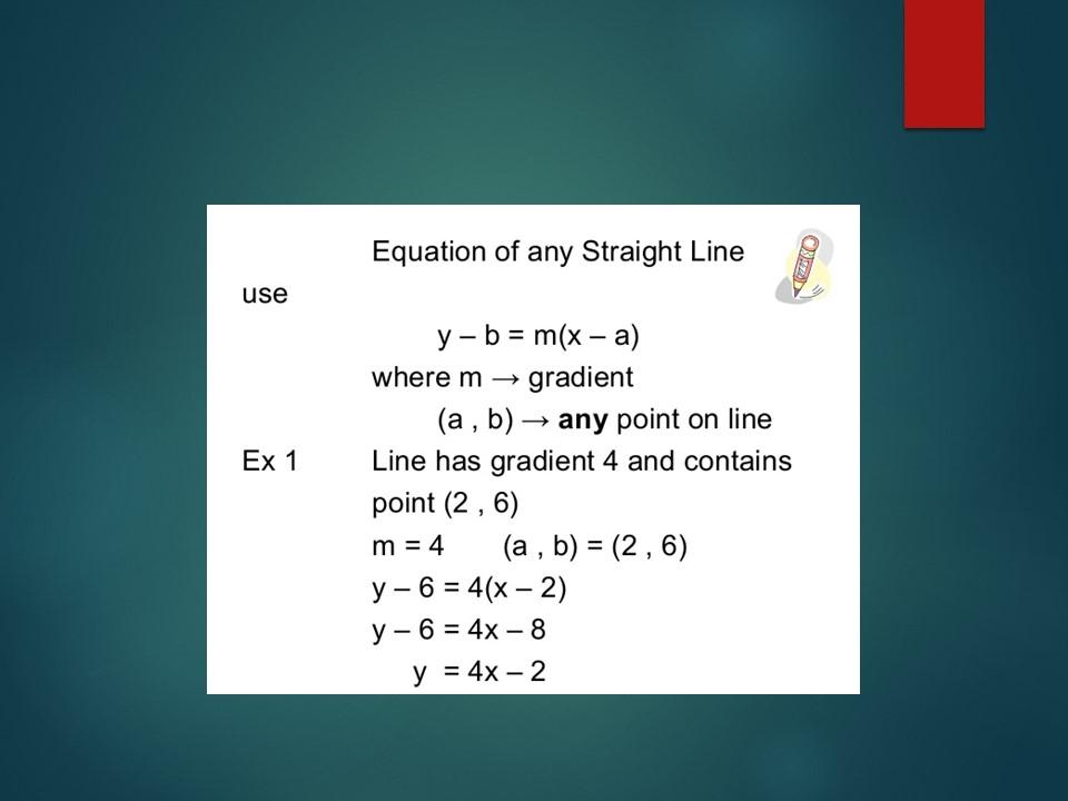 National 5 Maths: Unit 2 Relationships