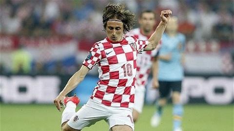 Modric sẽ là một trong những niềm kỳ vọng của ĐT Croatia
