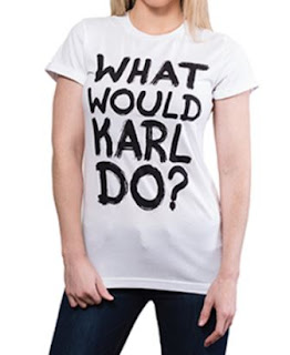 Would Karl Do Graffiti Cuffed Tee