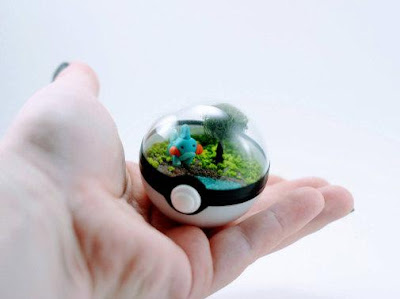 Pokeball Terrarium