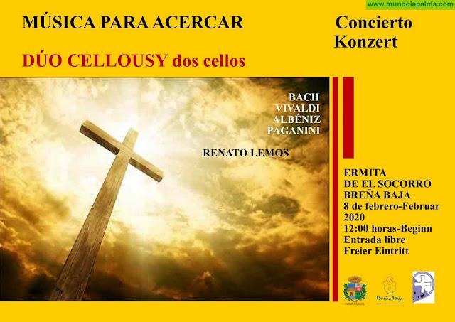 """BREÑA BAJA: Conciertos del """"Dúo Cellousy"""""""