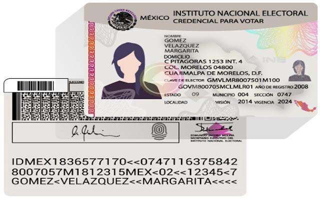 Identificaciones, solicitud