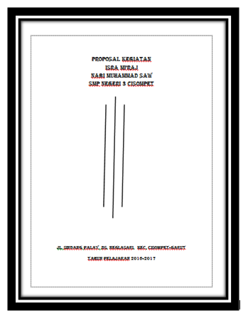 Download Proposal Isra Miraj Sekolah