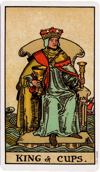 Greylady's Hearth: King Of Cups