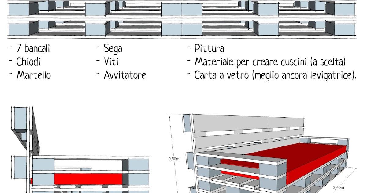 Extrêmement Progettare spazi verdi: Come costruire un divano con i pallet  ZK82