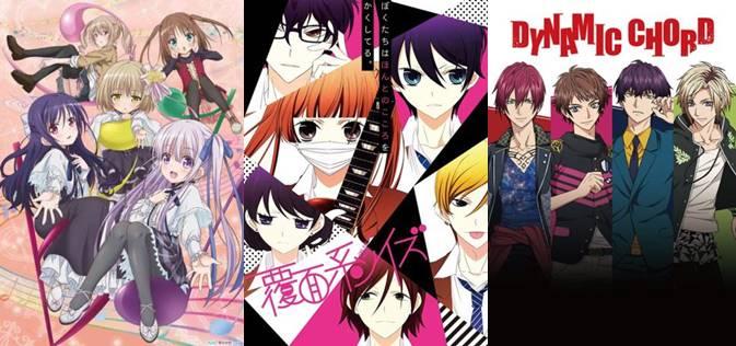 Anime Musik Yang Mendapat Rating Score 843 Di MyAnimeList Ini Mengisahkan Tentang Kaoru Nishimi Dan Sentarou Kawabuchi Teman Sekelas Mencoba
