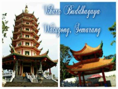 Gambar vihara Buddhagaya watugong semarang