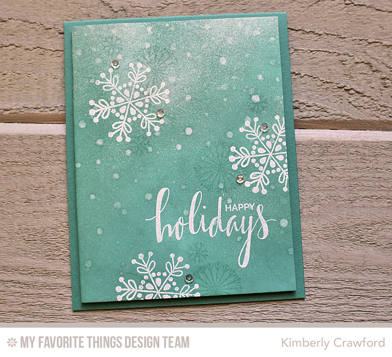 For the Love of Paper: elegant and whimsical Christmas cards: MFT ...