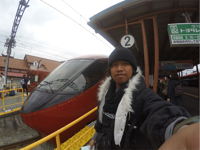 me with Fujisan view Express