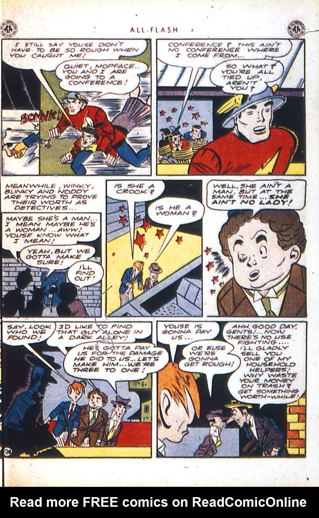 Read online All-Flash comic -  Issue #18 - 27