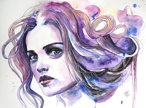 07-Can-you-see-Me-Erica-Dal-Maso-Expressing-Emotions-Through-Watercolor-Paintings-www-designstack-co