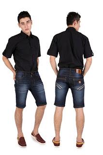 Celana Garsel Jeans Pendek