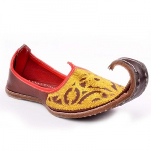 Curled Toe Arabic Shoes Name