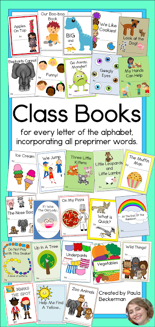 https://www.teacherspayteachers.com/Product/Class-Books-for-Every-Letter-of-the-Alphabet-Using-Every-PP-Sight-Word-1298475