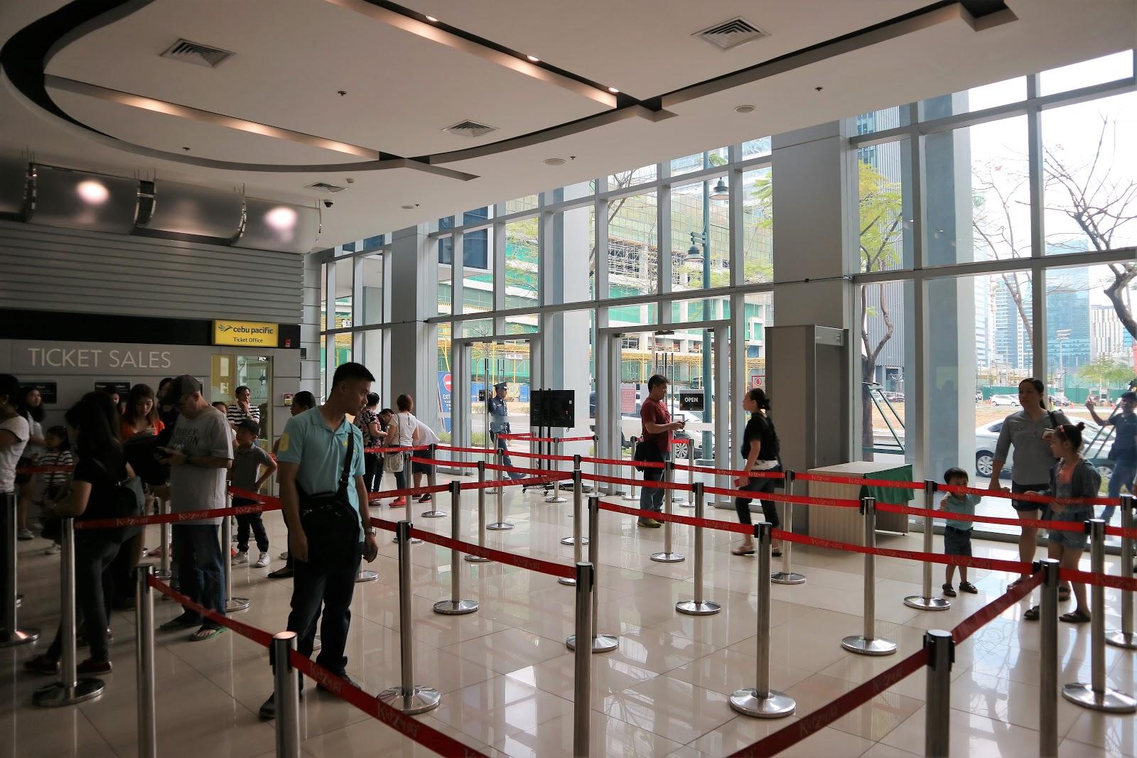 KidZania Cebu Pacific Entrance