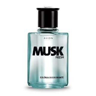 Musk Fresh Colônia Desodorante 90 ml