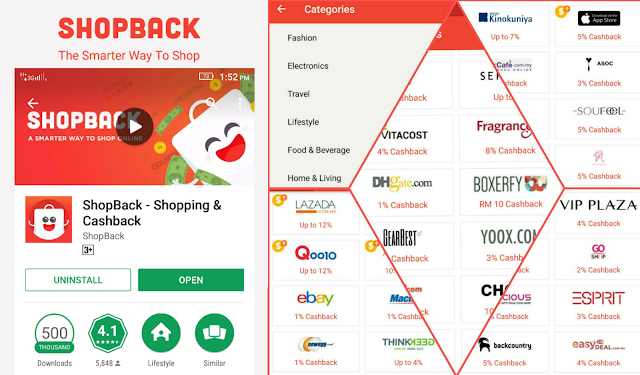 ShopBack Partnership Stores