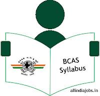 BCAS DASO Syllabus