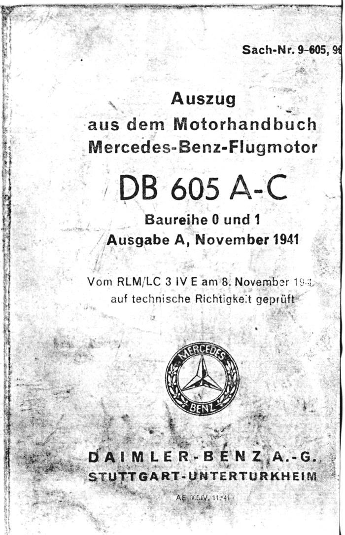 Sextant Blog: 5.) Daimler-Benz (Mercedes) DB-601/605