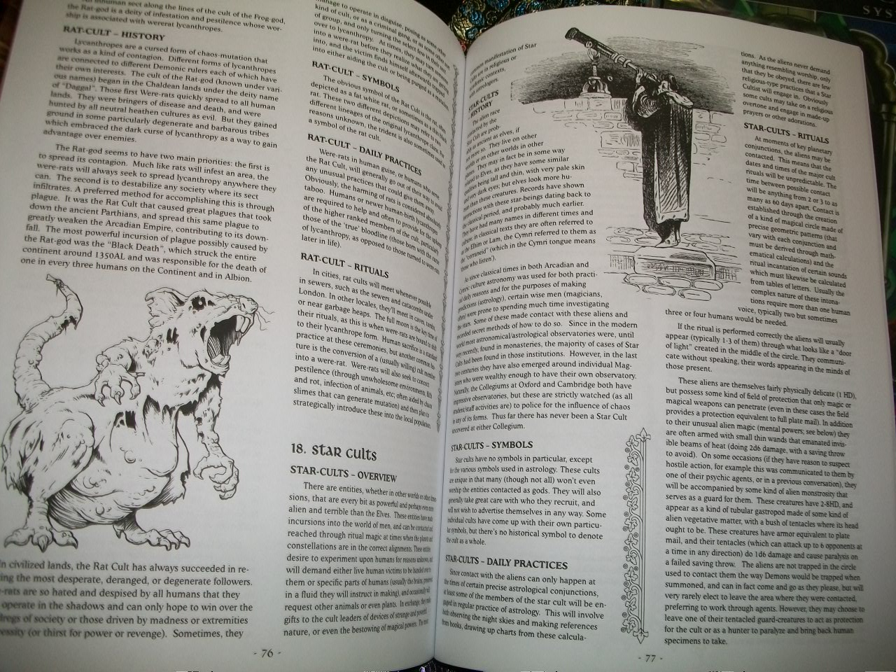 The rpgpundit rpgpundit reviews cults of chaos by the rpgpundit appendix 2 is a large 22 page guide to the major sects of chaos cults 20 different sects are covered here detailing what makes them tick their history buycottarizona Choice Image