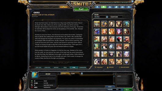 The Red Viking: Bringing this back!! SMITE