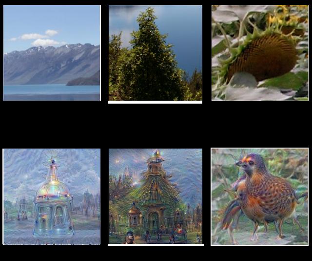 deepdream examples