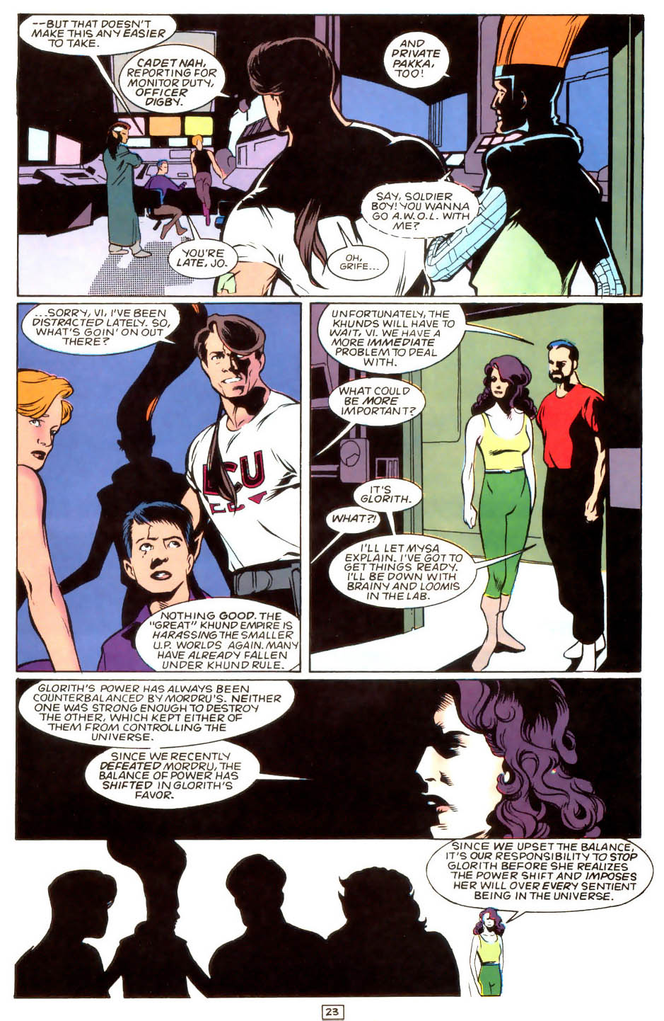 Legion of Super-Heroes (1989) 52 Page 23