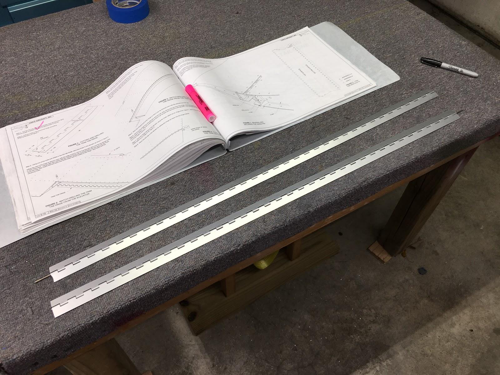Brantel S Rv 10 Build Blog Elevator Trim Tab Hinges