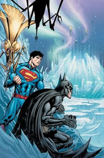 Batman and Superman At The Fortress of Solitude