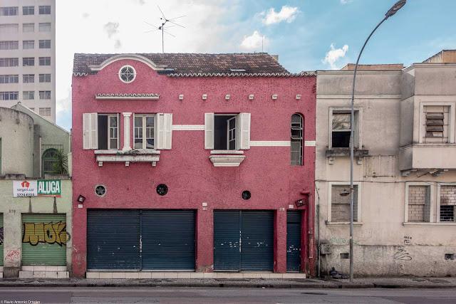 Sobrado na Rua Cruz Machado,366