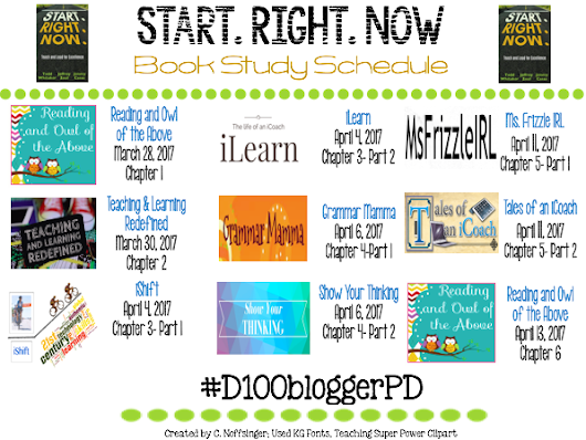 Start.Right.Now. #D100bloggerPD