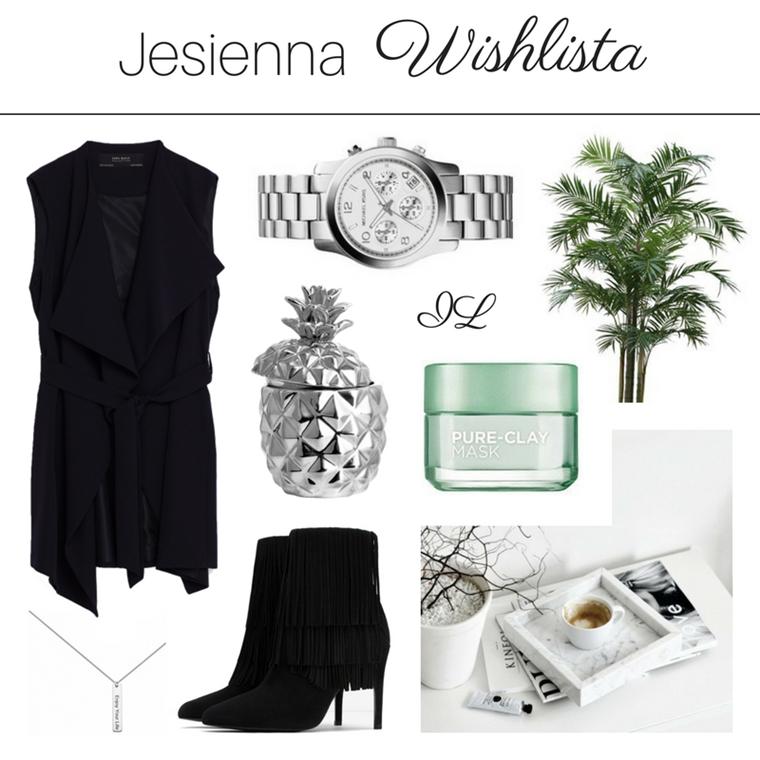 Jesienna Wishlista, czyli moje zakupowe plany
