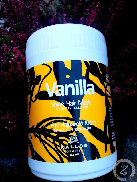 Kallos, Vanilla, maska do włosów