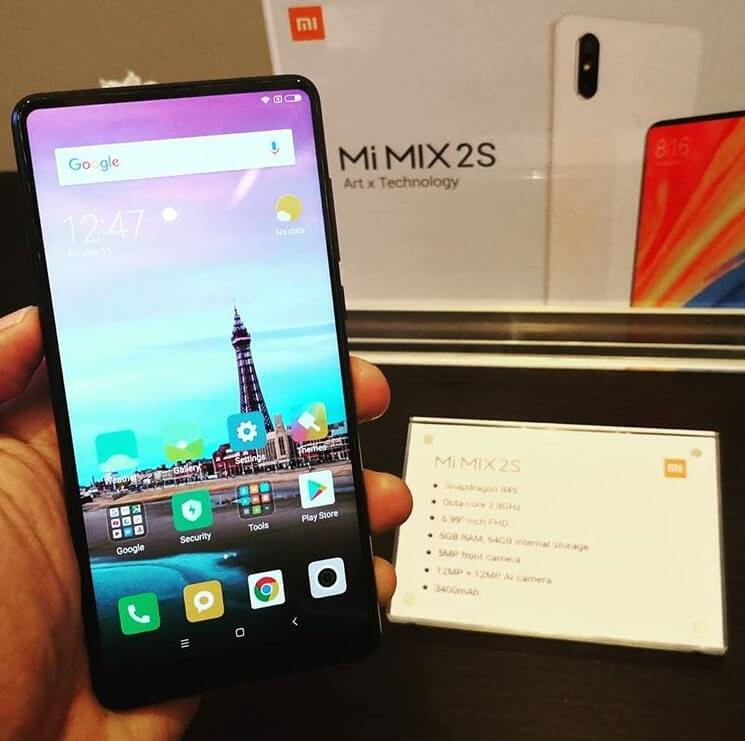 Xiaomi Mi Mix 2s Unveils in PH; Snapdragon 845, 6GB RAM, Dual Rear Cameras for Php27,990