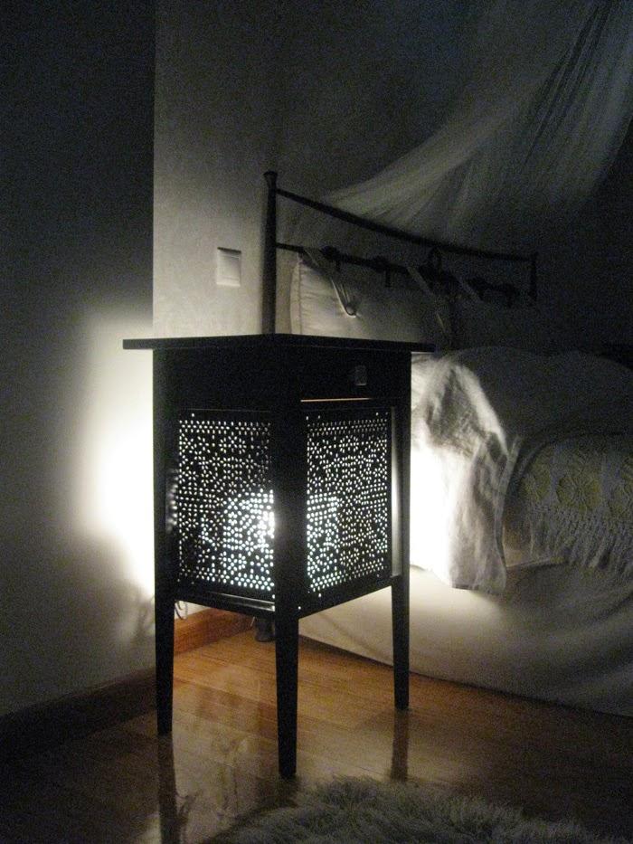 Ikea Shelves Hemnes Daybed In A Boys Bedroom: Variera Panels On A Hemnes Nightstand