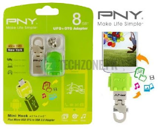 Buy PNY Micro M2 Android OTG USB Flash Drive 16 GB Online In Pakistan