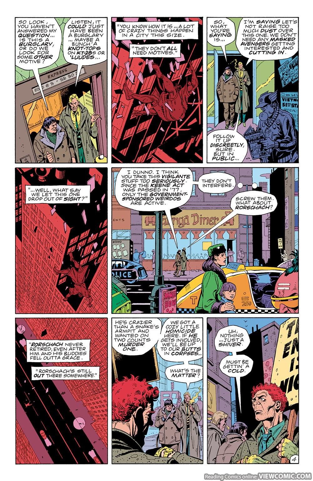 watchmen 01 viewcomic reading comics online for