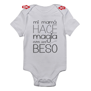 body bebé con frase cuello americano blog mimuselina
