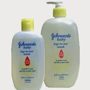 sữa tắm gội cho bé Johnson Baby