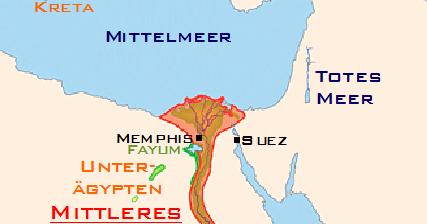 Middle Kingdom Egypt Map.Famous Pharaohs Middle Kingdom Of Egypt Map