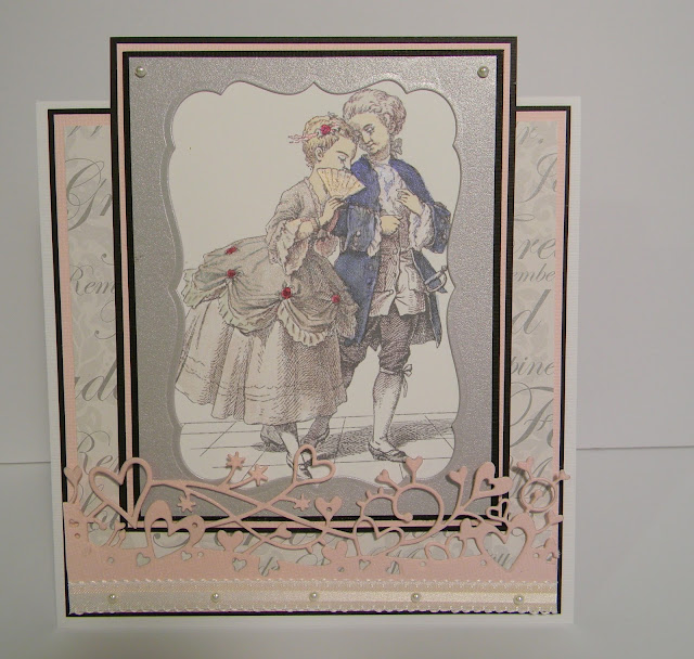wedding card, dienamic dies