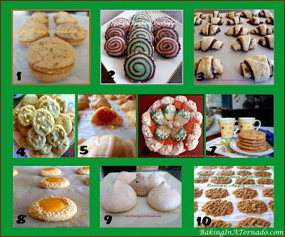 Cookies, Cookies, Cookies, 30 Recipes for the Holidays! | Recipes developed by and graphic property of www.BakingInATornado.com | #recipe #cookies #Christmas