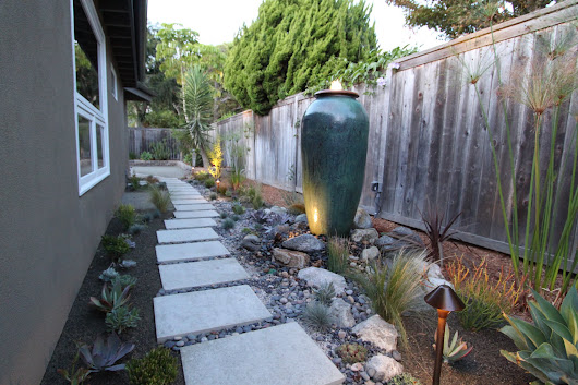 mid-century modern drought tolerant landscaping | mid-century modern remodel